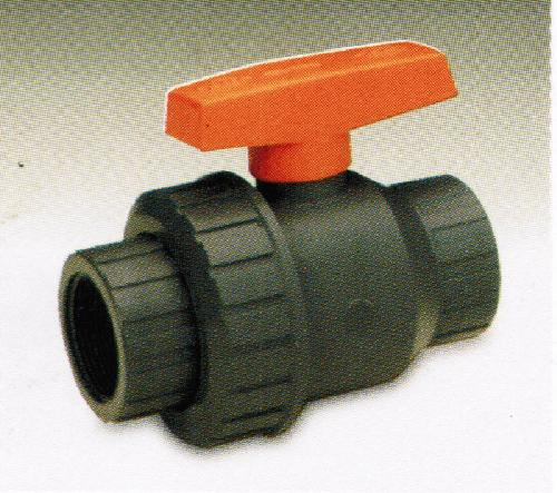 ราคาพิเศษ Single Union Ball Valve UPVC / EPDM